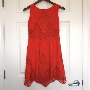Gianni Bini Embroidered Dress WORN ONCE!